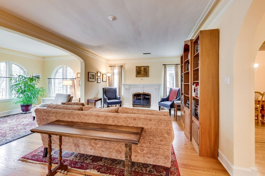 Real Estate Photography - 1215 Park Ave, River Forest, IL, 60305 - Living Room