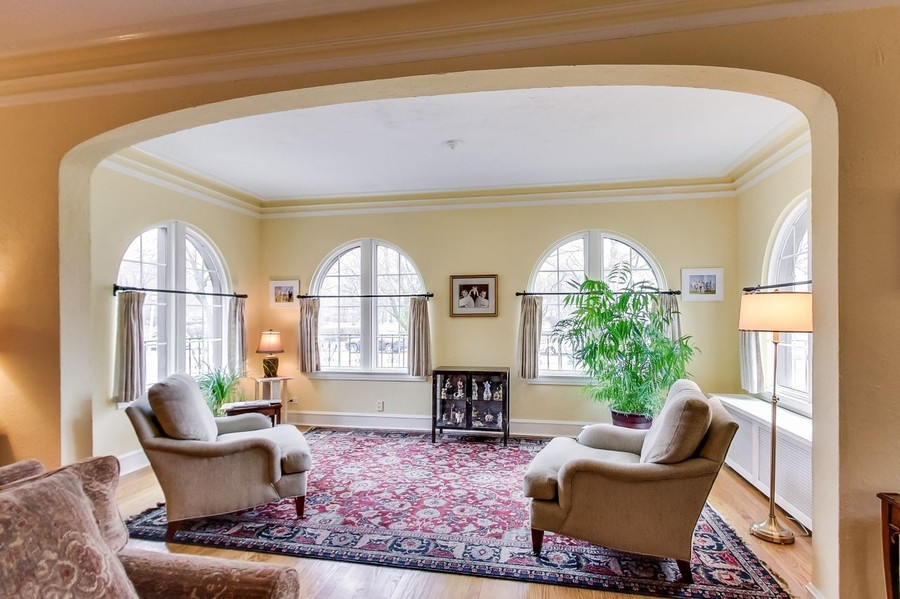 Real Estate Photography - 1215 Park Ave, River Forest, IL, 60305 - Sunroom (off Living Room)