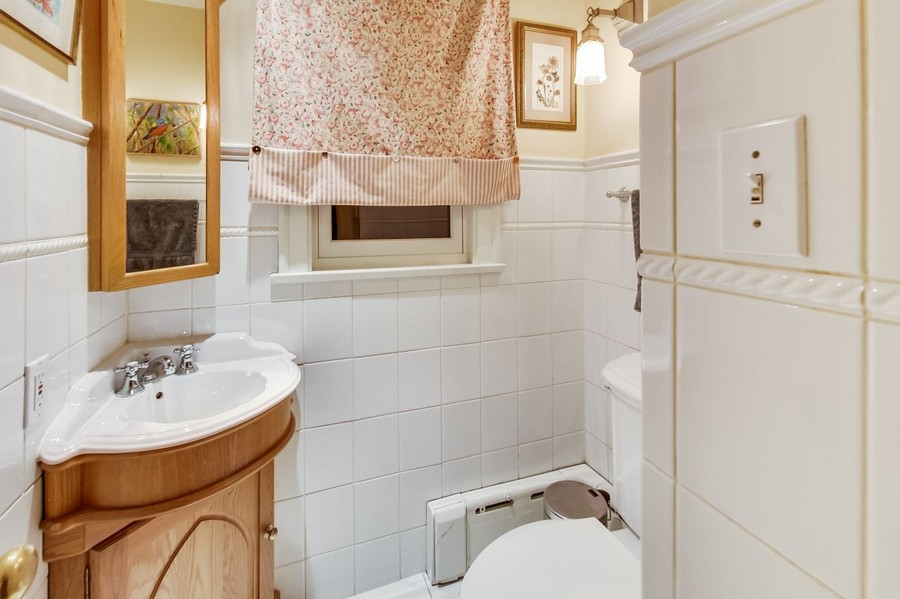 Real Estate Photography - 1215 Park Ave, River Forest, IL, 60305 - Powder Room