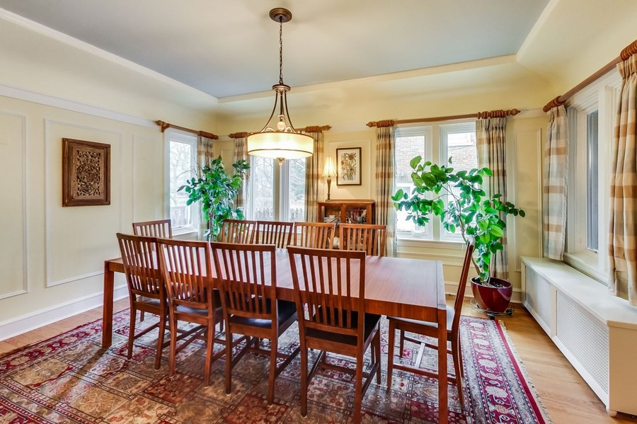 Real Estate Photography - 1215 Park Ave, River Forest, IL, 60305 - Dining Room