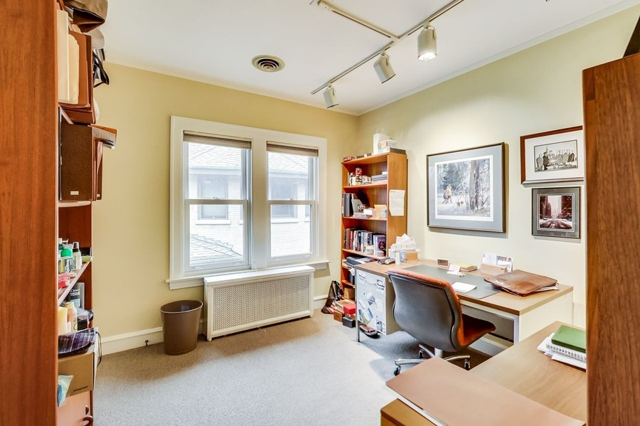 Real Estate Photography - 1215 Park Ave, River Forest, IL, 60305 - Office/Bedroom 2