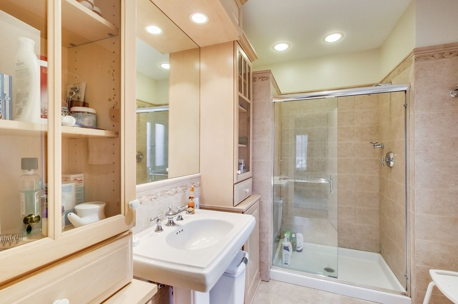 Real Estate Photography - 1215 Park Ave, River Forest, IL, 60305 - Master Bath