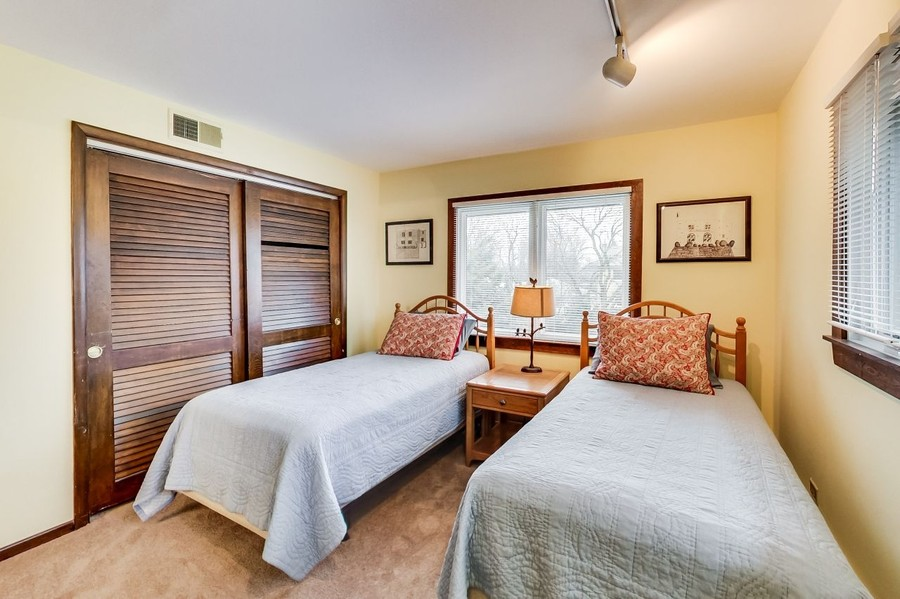 Real Estate Photography - 1215 Park Ave, River Forest, IL, 60305 - Tandem Bedroom 1