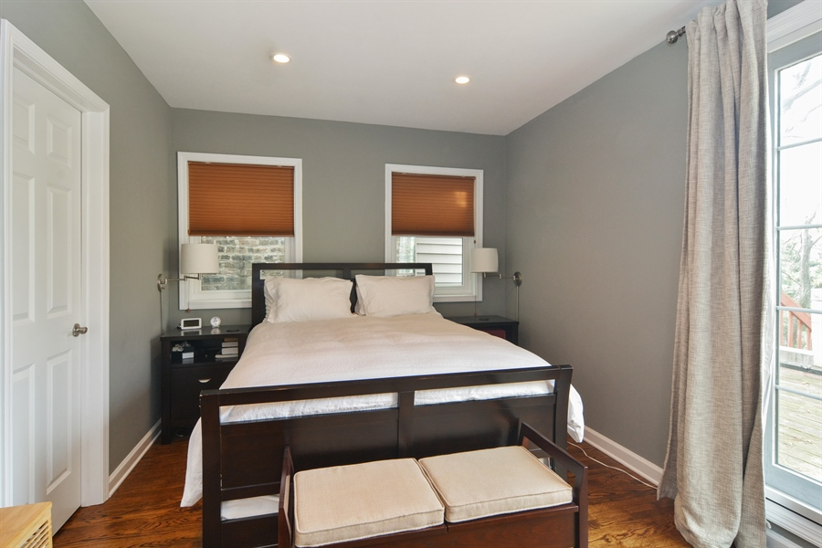 Real Estate Photography - 2648 N Seminary, unit 3, Chicago, IL, 60614 - Master Bedroom