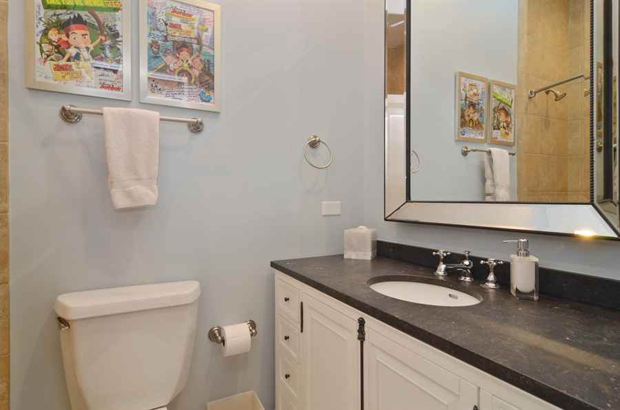 Real Estate Photography - 2636 N Greenview, Chicago, IL, 60614 - 3rd Bathroom