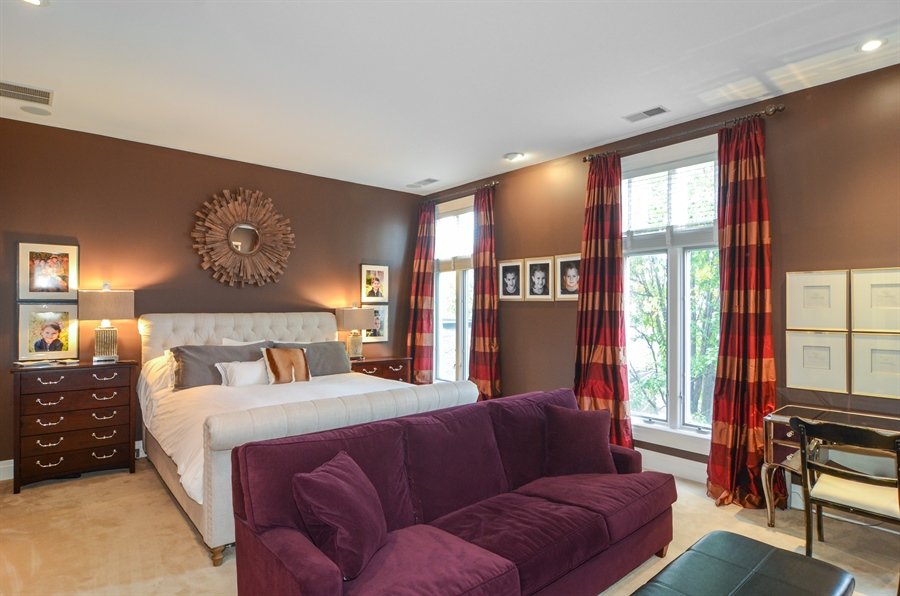 Real Estate Photography - 2636 N Greenview, Chicago, IL, 60614 - Master Bedroom