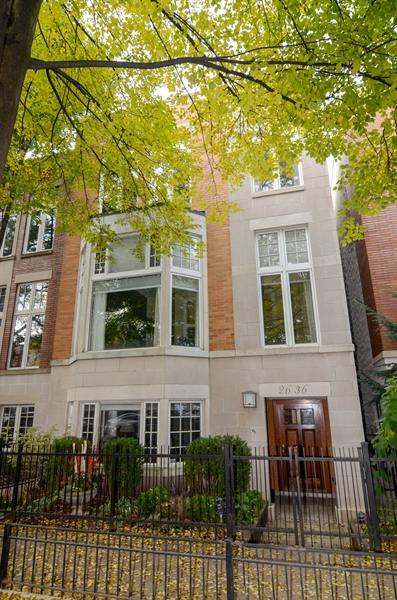Real Estate Photography - 2636 N Greenview, Chicago, IL, 60614 - Front View