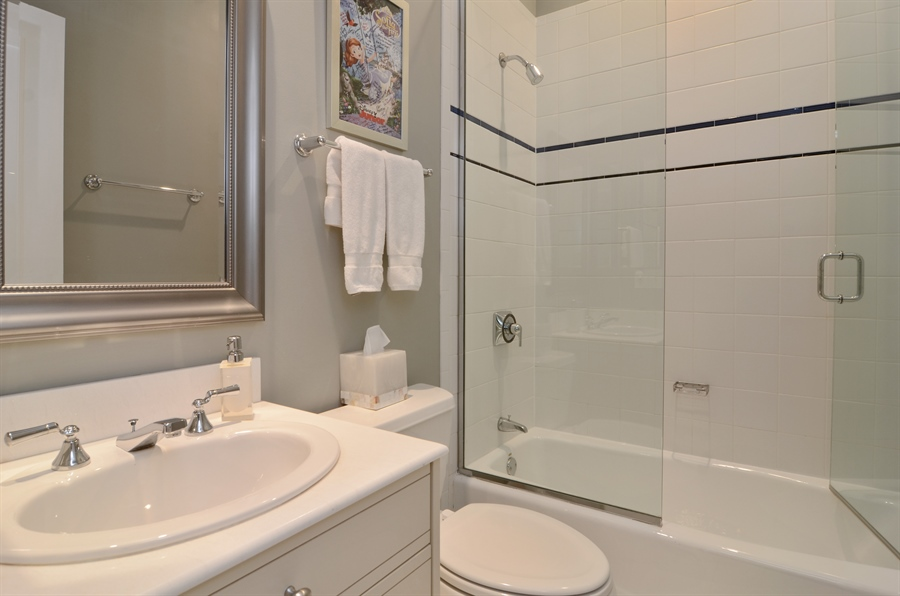 Real Estate Photography - 2636 N Greenview, Chicago, IL, 60614 - 2nd Bathroom