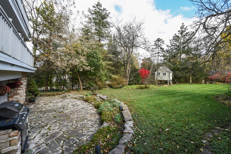 Real Estate Photography - 603 S Summit St, Barrington, IL, 60010 - Back Yard