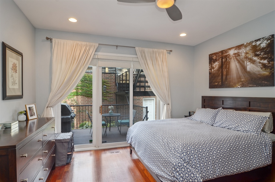 Real Estate Photography - 2312 W Wabansia Ave, Unit 1, Chicago, IL, 60647 - Master Bedroom