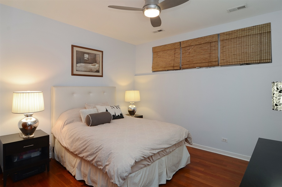 Real Estate Photography - 2312 W Wabansia Ave, Unit 1, Chicago, IL, 60647 - 2nd Bedroom