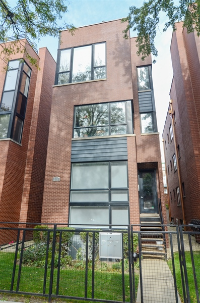 Real Estate Photography - 2312 W Wabansia Ave, Unit 1, Chicago, IL, 60647 - Front View