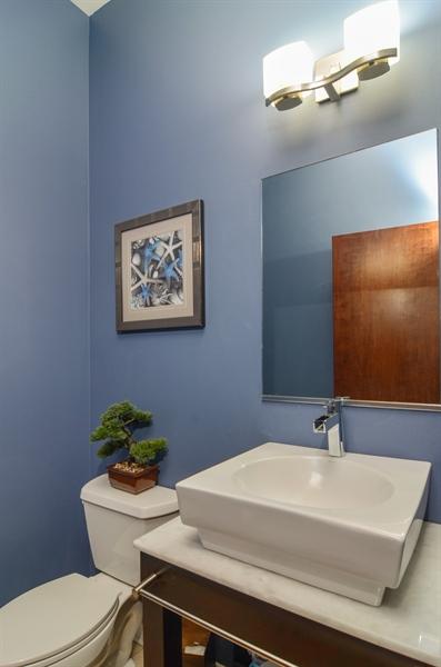Real Estate Photography - 2312 W Wabansia Ave, Unit 1, Chicago, IL, 60647 - Half Bath