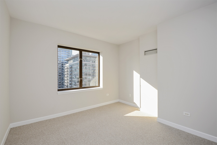 Real Estate Photography - 1322 S Prairie, unit 1105, Chicago, IL, 60605 - Master Bedroom