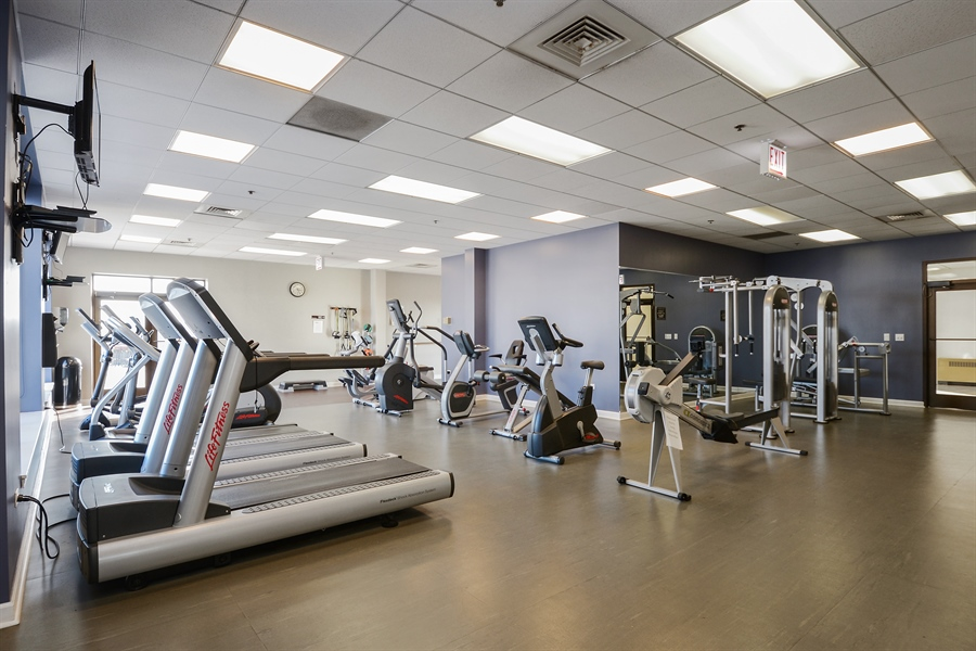 Real Estate Photography - 1322 S Prairie, unit 1105, Chicago, IL, 60605 - Fitness Center