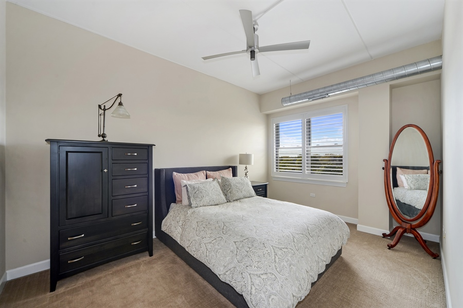 Real Estate Photography - 3125 W. Fullerton, 502, Chicago, IL, 60647 - Master Bedroom