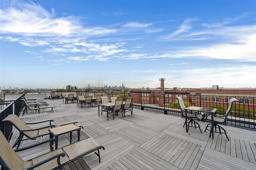 Real Estate Photography - 3125 W. Fullerton, 502, Chicago, IL, 60647 - Roof Deck