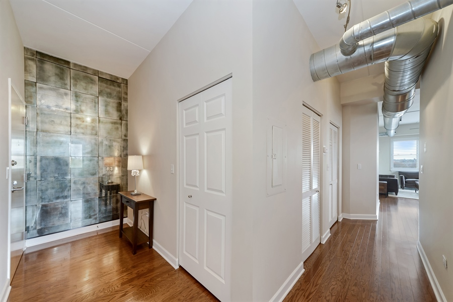 Real Estate Photography - 3125 W. Fullerton, 502, Chicago, IL, 60647 - Foyer