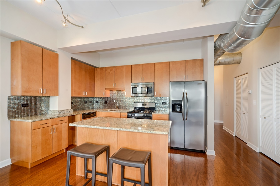 Real Estate Photography - 3125 W. Fullerton, 502, Chicago, IL, 60647 - Kitchen