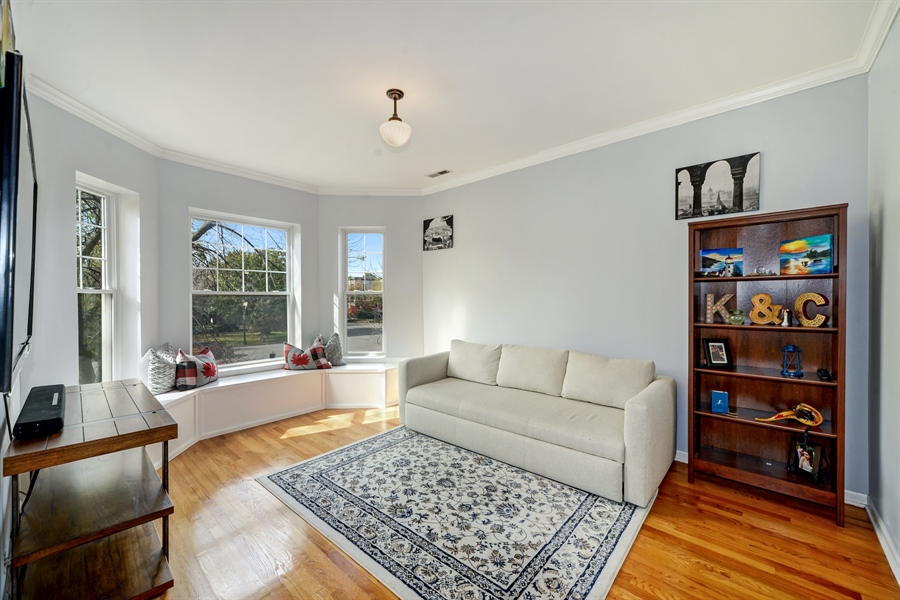 Real Estate Photography - 2443 N. Kedzie, 2, Chicago, IL, 60647 - Living Room