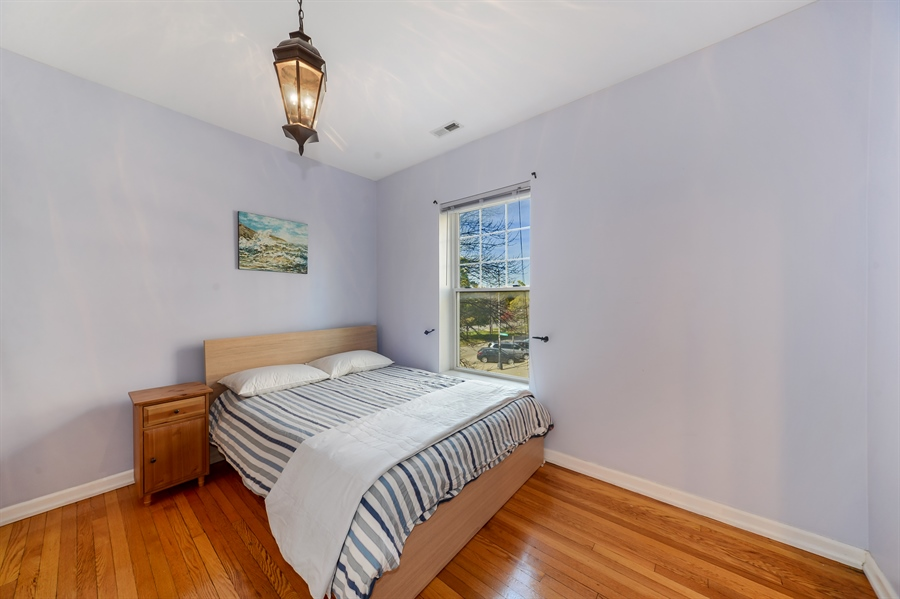 Real Estate Photography - 2443 N. Kedzie, 2, Chicago, IL, 60647 - Master Bedroom
