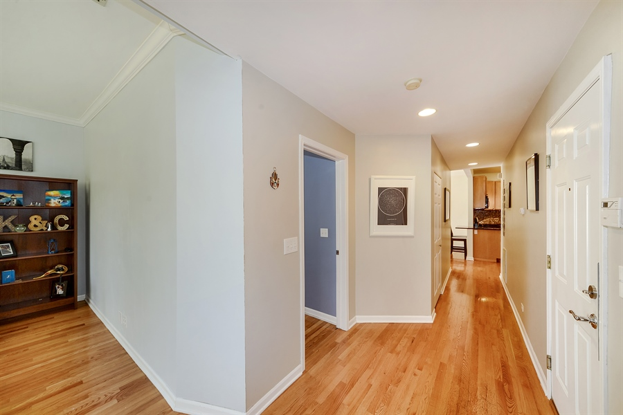 Real Estate Photography - 2443 N. Kedzie, 2, Chicago, IL, 60647 - Foyer