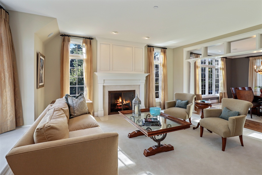 Real Estate Photography - 1685 Burr Oak Drive, Libertyville, IL, 60048 - Living Room