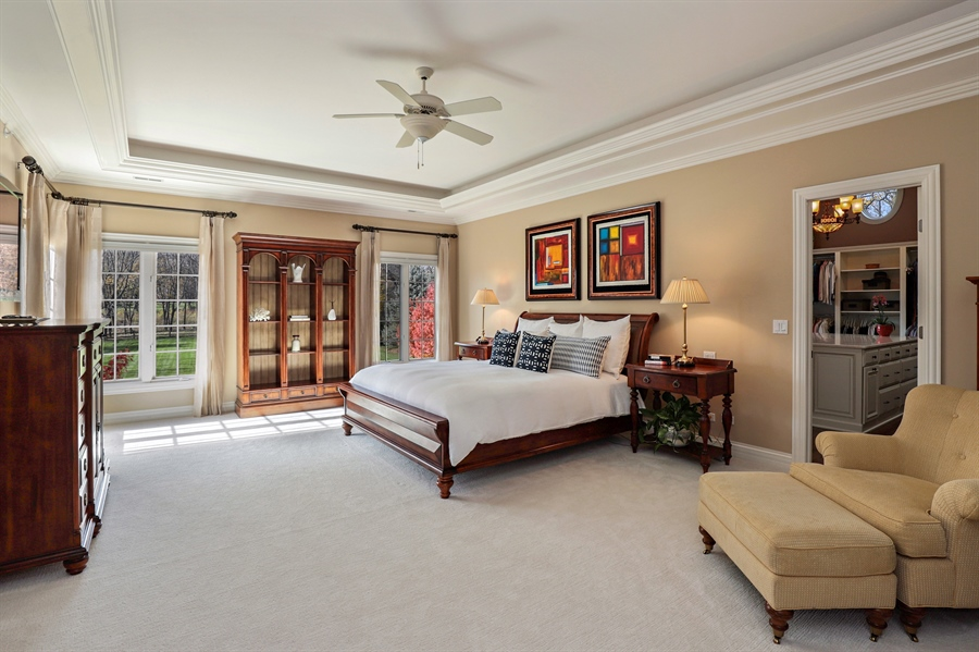 Real Estate Photography - 1685 Burr Oak Drive, Libertyville, IL, 60048 - Master Bedroom