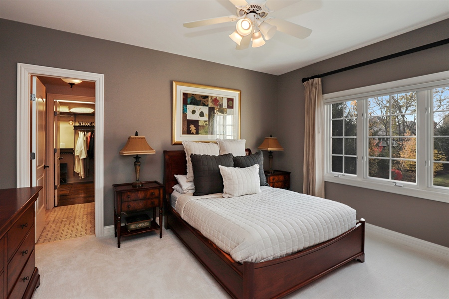 Real Estate Photography - 1685 Burr Oak Drive, Libertyville, IL, 60048 - 2nd Bedroom
