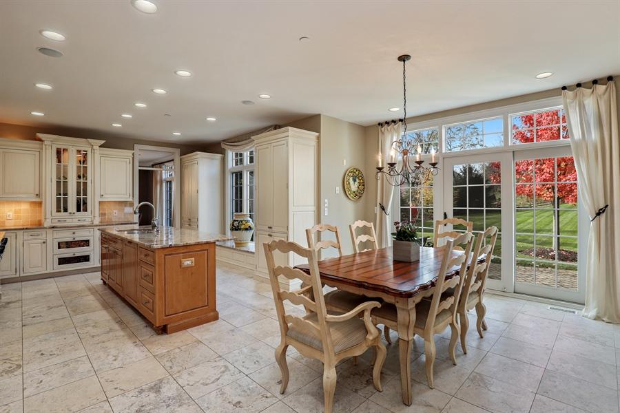 Real Estate Photography - 1685 Burr Oak Drive, Libertyville, IL, 60048 - Kitchen / Breakfast Room