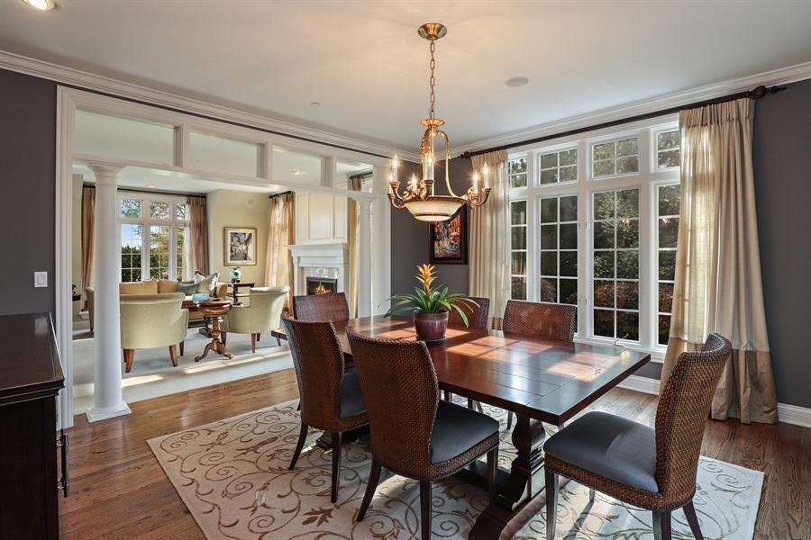 Real Estate Photography - 1685 Burr Oak Drive, Libertyville, IL, 60048 - Dining Room