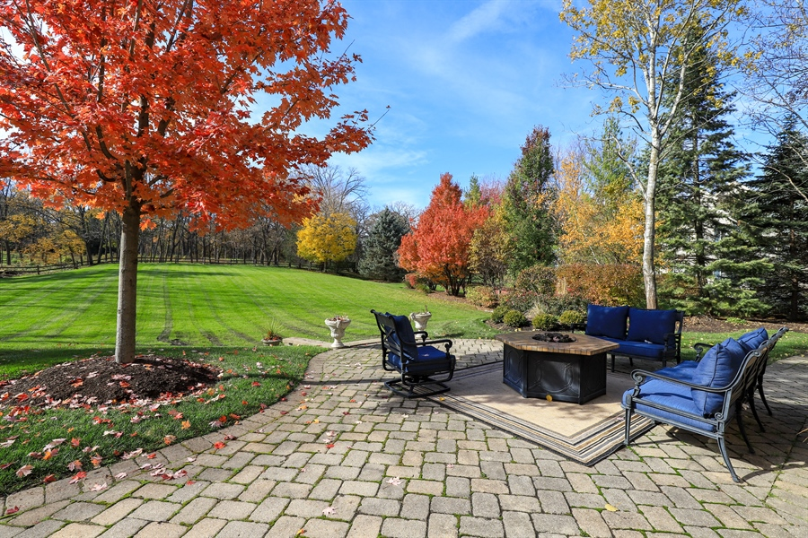 Real Estate Photography - 1685 Burr Oak Drive, Libertyville, IL, 60048 - Back Yard