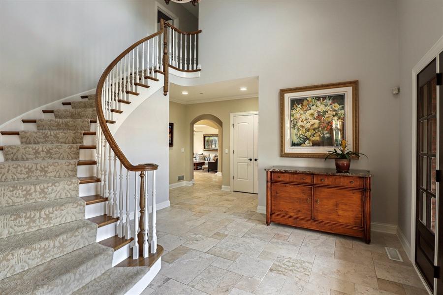 Real Estate Photography - 1685 Burr Oak Drive, Libertyville, IL, 60048 - Foyer