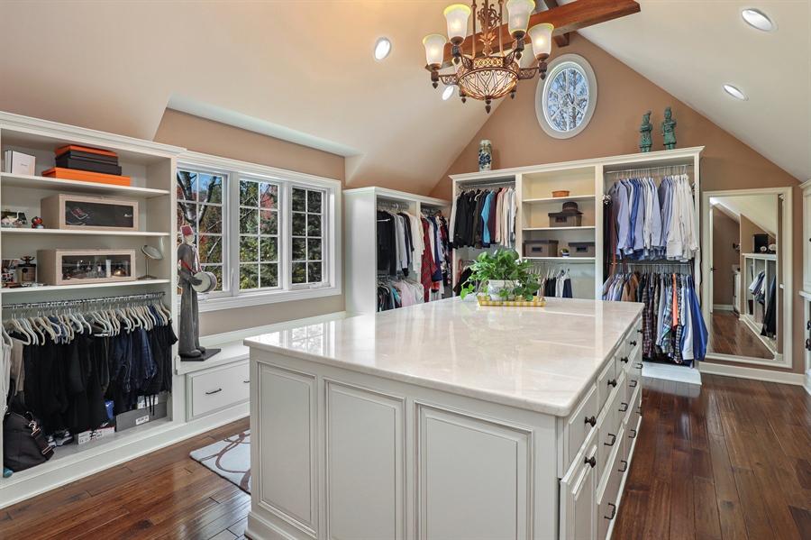 Real Estate Photography - 1685 Burr Oak Drive, Libertyville, IL, 60048 - Master Bedroom Closet