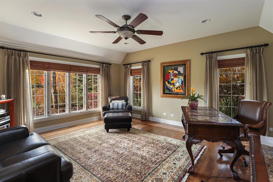 Real Estate Photography - 1685 Burr Oak Drive, Libertyville, IL, 60048 - Office