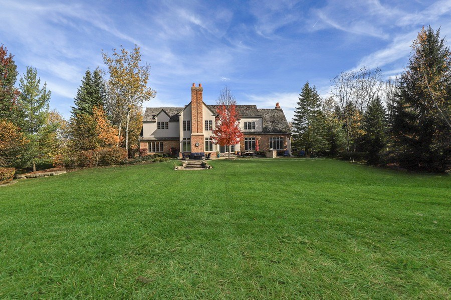 Real Estate Photography - 1685 Burr Oak Drive, Libertyville, IL, 60048 - Rear View