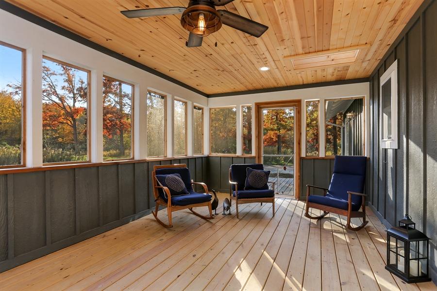Real Estate Photography - 29 Walden Way, New Buffalo, MI, 49117 - Porch
