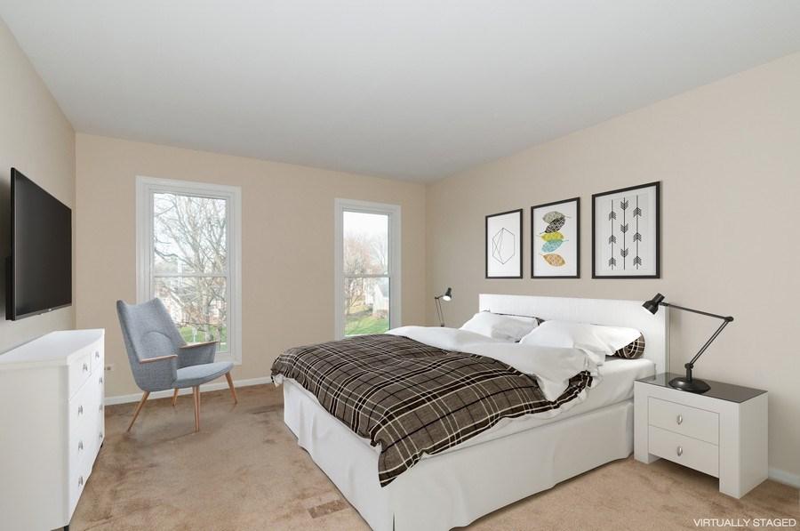 Real Estate Photography - 1068 Creekside, Wheaton, IL, 60189 - Bedroom