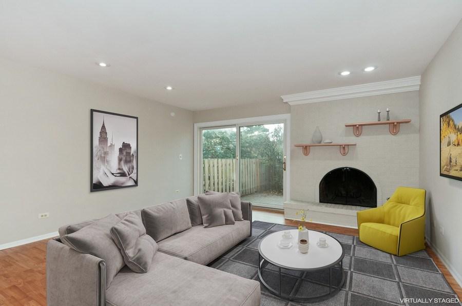 Real Estate Photography - 1068 Creekside, Wheaton, IL, 60189 - Family Room