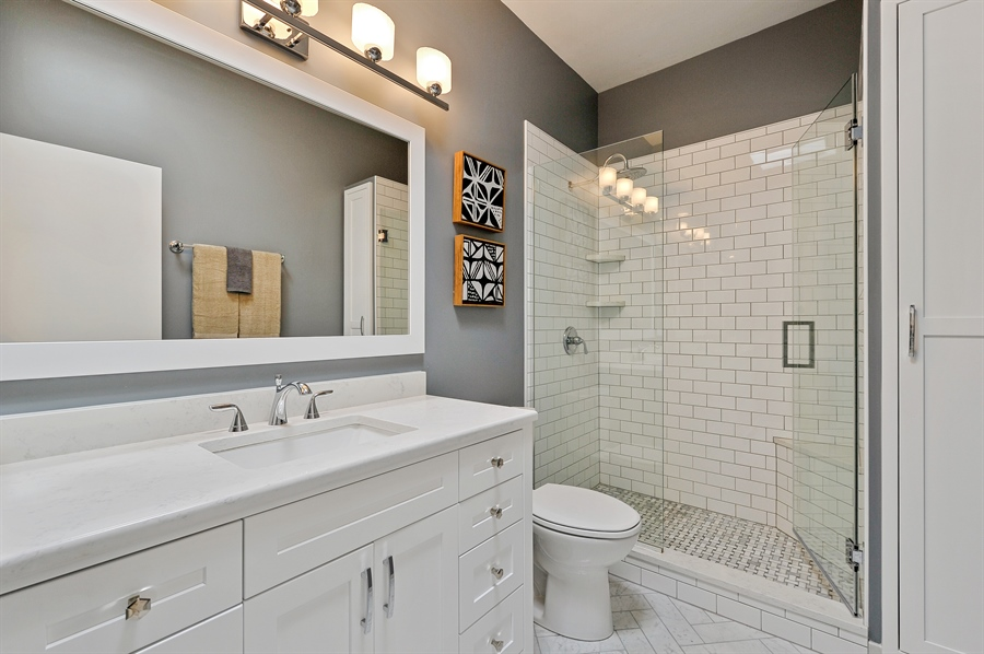 Real Estate Photography - 1522 W School St, Chicago, IL, 60657 - Master Bathroom