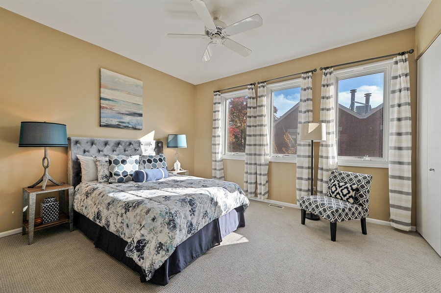 Real Estate Photography - 1522 W School St, Chicago, IL, 60657 - Master Bedroom