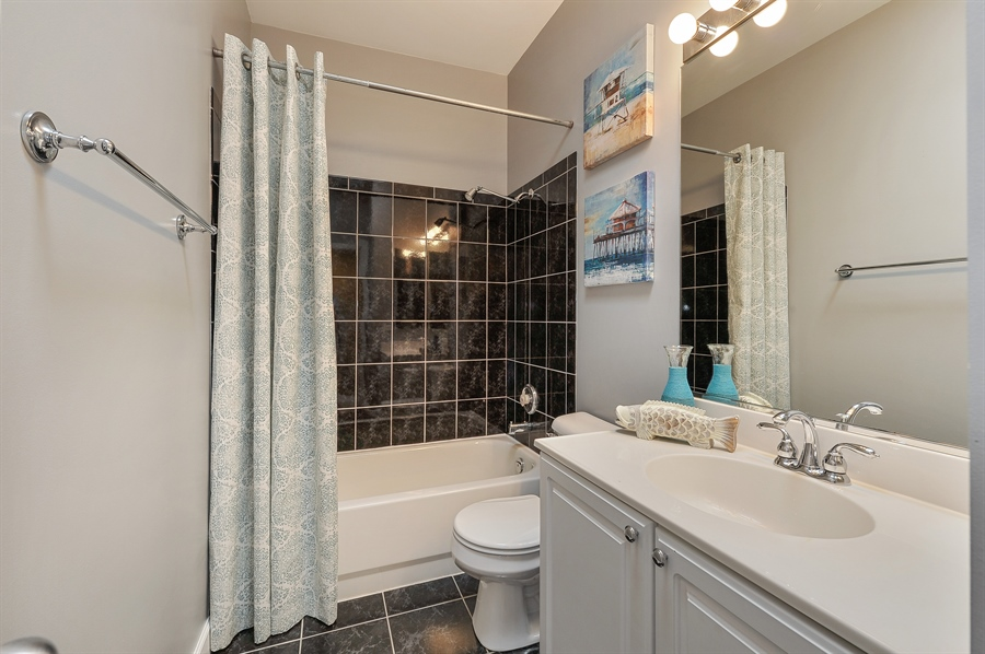 Real Estate Photography - 1522 W School St, Chicago, IL, 60657 - 2nd Bathroom
