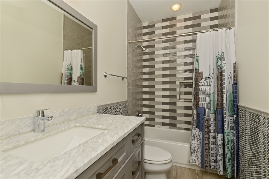 Real Estate Photography - 2900 N Paulina, Chicago, IL, 60657 - 3rd Bathroom