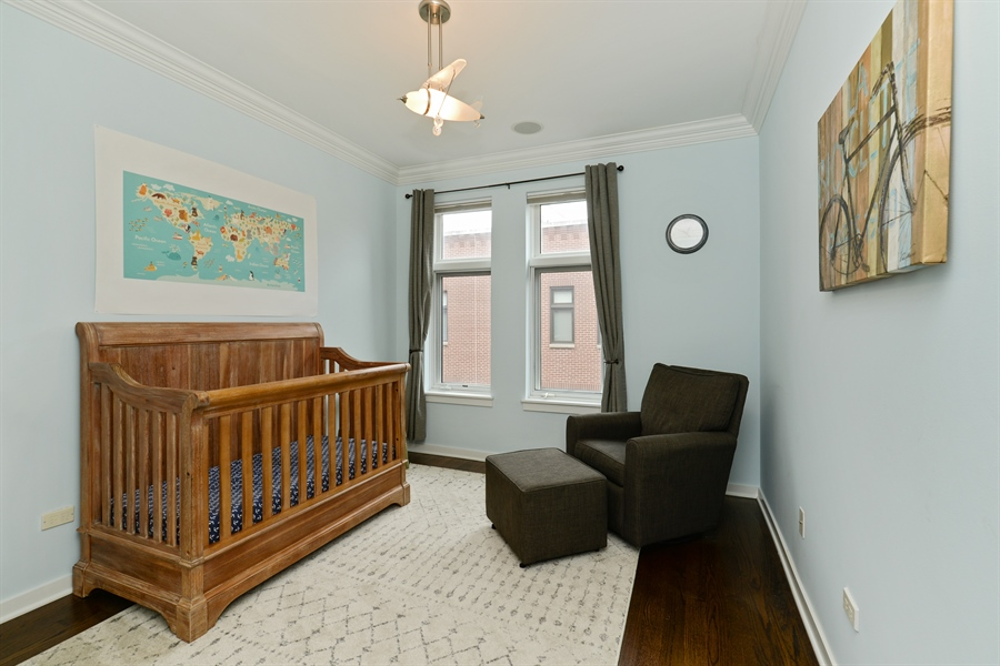 Real Estate Photography - 2900 N Paulina, Chicago, IL, 60657 - 4th Bedroom