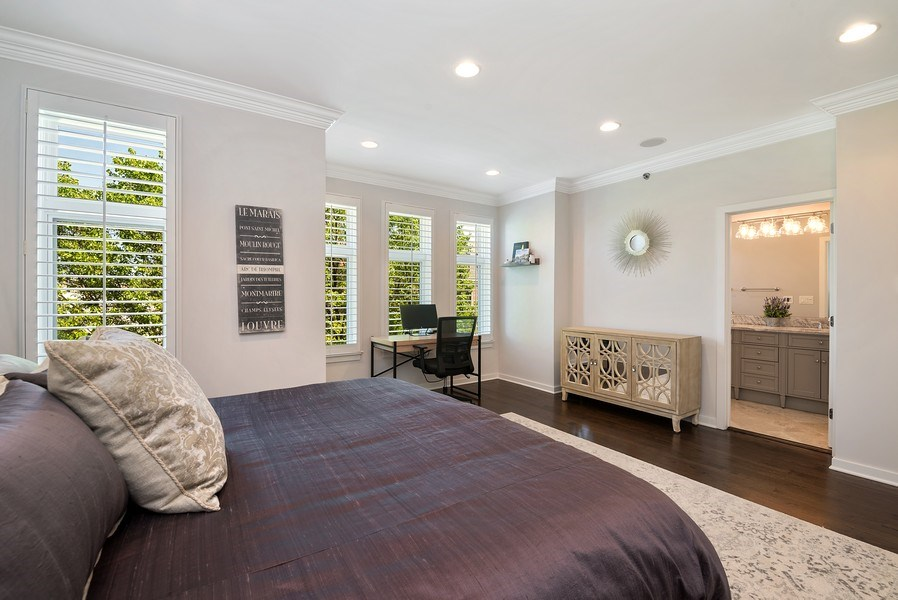 Real Estate Photography - 2900 N Paulina, Chicago, IL, 60657 - Master Bedroom