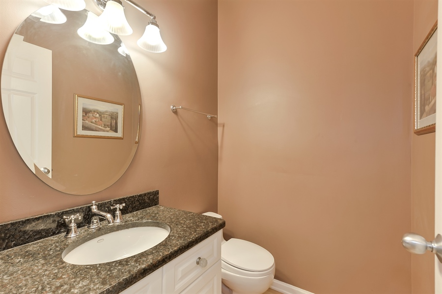 Real Estate Photography - 3233 North Racine, 1, Chicago, IL, 60657 - Half Bath