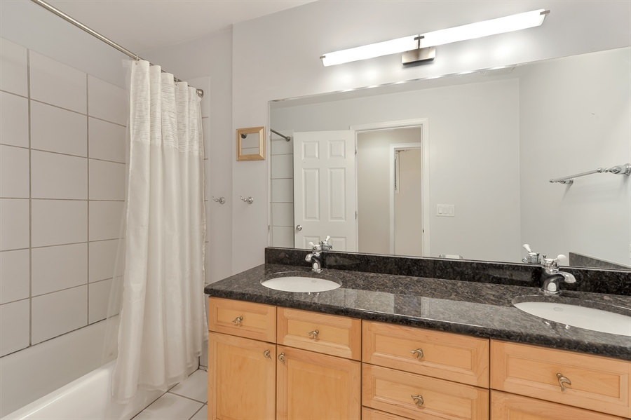 Real Estate Photography - 3233 North Racine, 1, Chicago, IL, 60657 - 2nd Bathroom