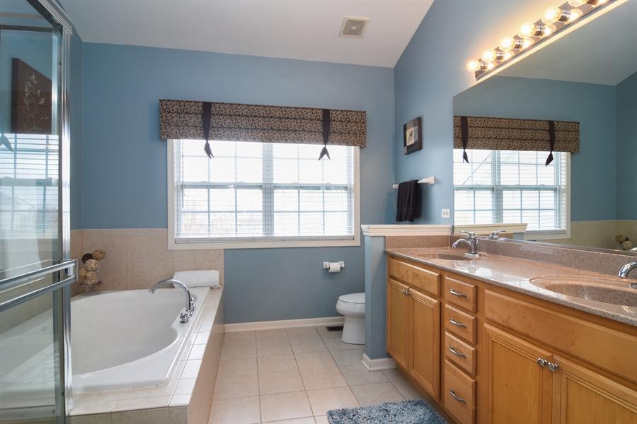 Real Estate Photography - 16 Deerfield, Hawthorn Woods, IL, 60047 - Master Bathroom