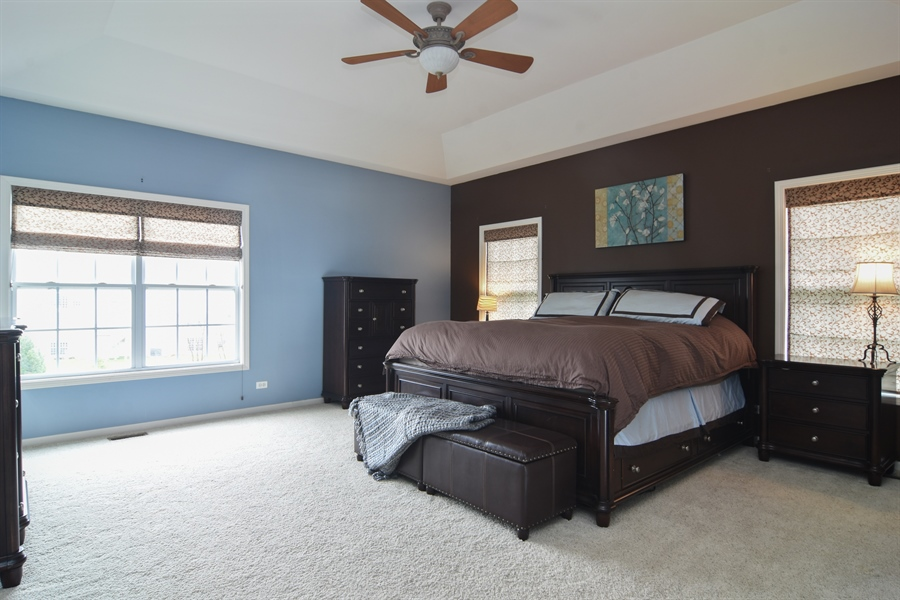 Real Estate Photography - 16 Deerfield, Hawthorn Woods, IL, 60047 - Master Bedroom