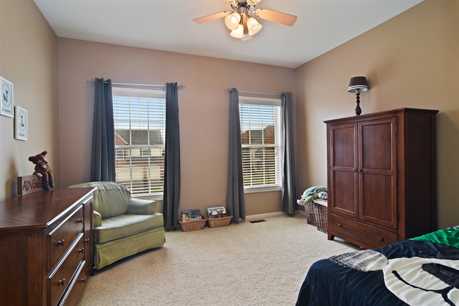 Real Estate Photography - 16 Deerfield, Hawthorn Woods, IL, 60047 - 3rd Bedroom